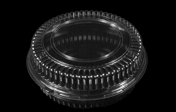 "12"" x 2.25"" Fluted Platter Dome"