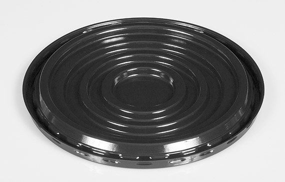 "9"" Round Black Ring Base 206-150086"