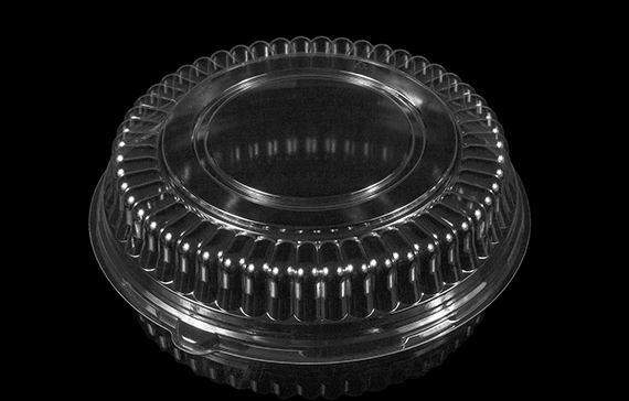 "10.25"" x 2.25"" Fluted Platter Dome"
